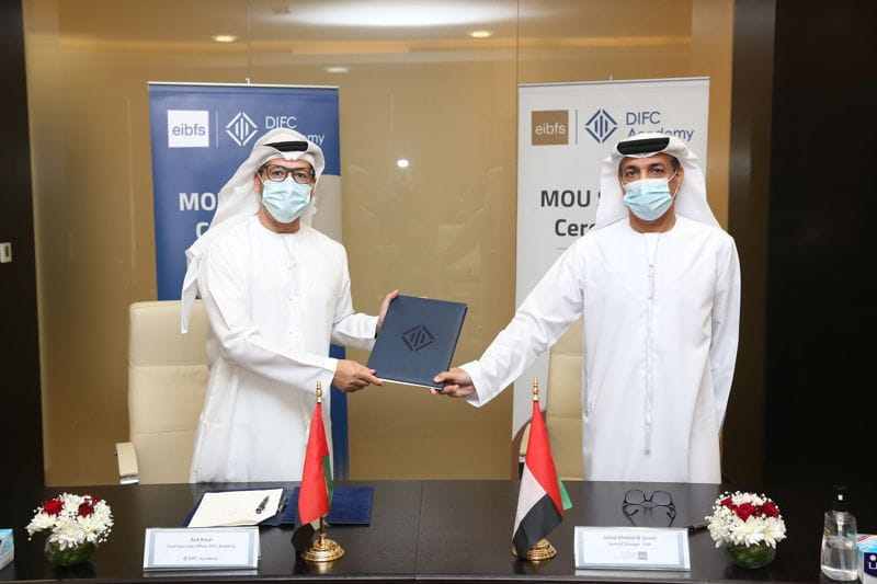 DIFC Academy and Emirates Institute for Banking and Financial Studies Partner to Enhance Financial Training and Increase Knowledge Exchange