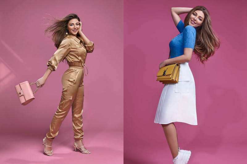 REDTAG has launched its 2021 Spring collection with Myriam Fares